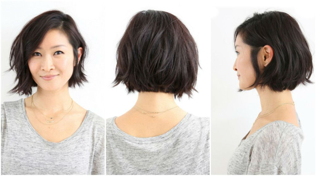 Asymmetrical Bob for Short Hair